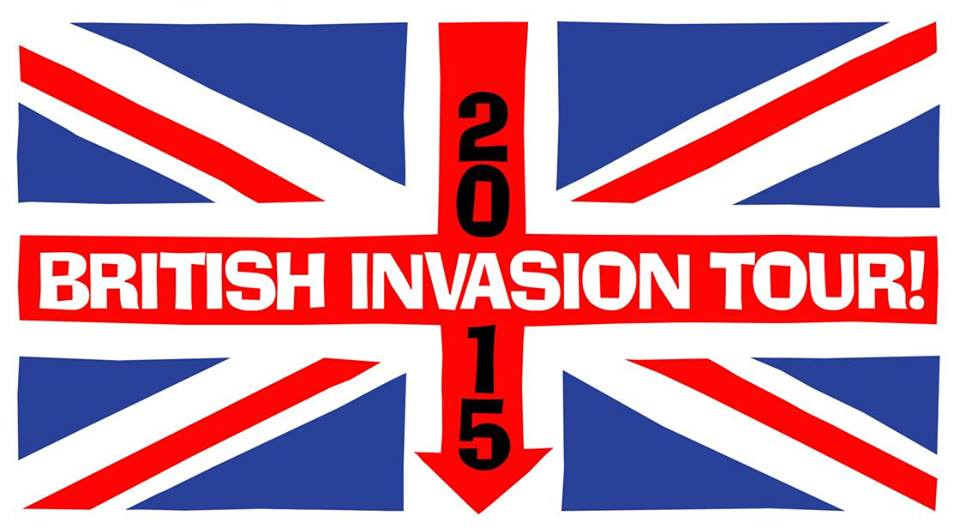 British Invasion 2015 Tour Logo